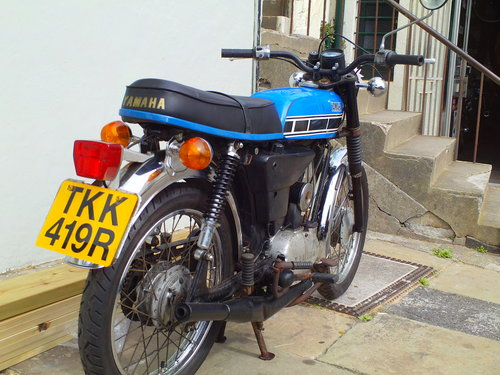 1977 YAMAHA FS1E (FS1E A) SOLD (picture 2 of 5)