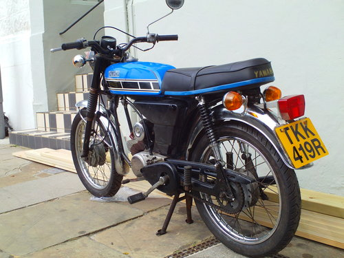 1977 YAMAHA FS1E (FS1E A) SOLD (picture 4 of 5)