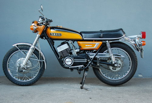 1974 Yamaha RD250 RD350 DS7 etc. 2stroke Collection 5 Bikes - One SOLD (picture 6 of 6)