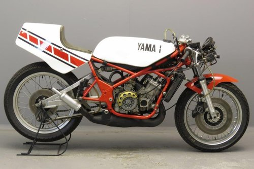 Yamaha 1985 TZ 250 racer SOLD (picture 1 of 6)