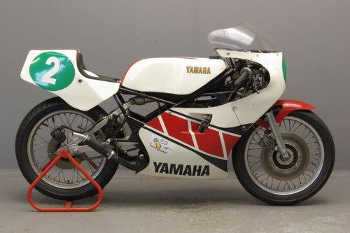 Yamaha 1981 TZ 250 racer SOLD (picture 1 of 6)