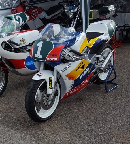 1993 Yamaha TZ250 4DP 2 Stroke Race Bike For Sale (picture 1 of 4)