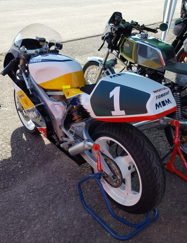 1993 Yamaha TZ250 4DP 2 Stroke Race Bike For Sale (picture 3 of 4)
