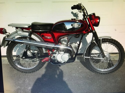 1971 Yamaha 100cc LT5A  classic 2 stroke For Sale (picture 1 of 3)