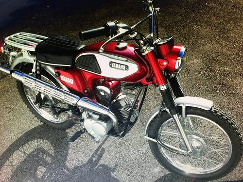 1971 Yamaha 100cc LT5A  classic 2 stroke For Sale (picture 3 of 3)