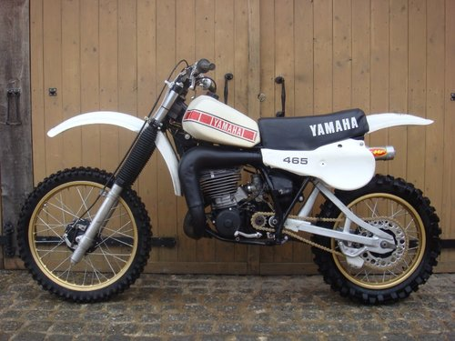 1980 YZ 465 2 STROKE IMMACULATE For Sale (picture 1 of 6)