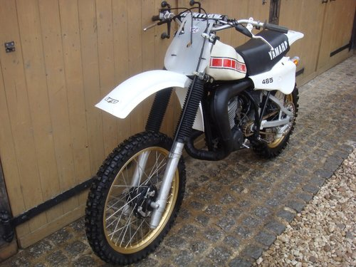1980 YZ 465 2 STROKE IMMACULATE For Sale (picture 6 of 6)