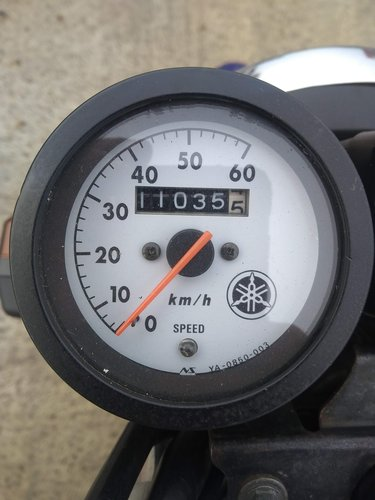 2003 Yamaha RZ50 - Low mileage - UK registered V5 logbook For Sale (picture 3 of 6)