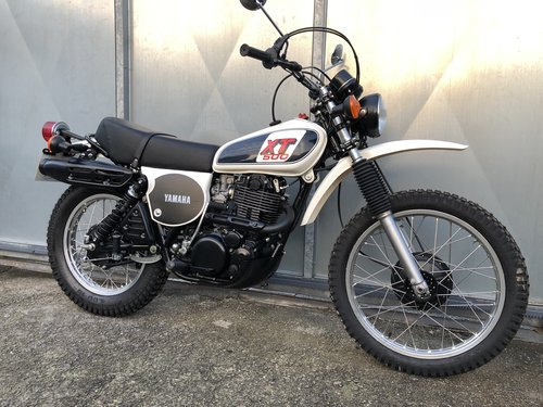 1978 YAMAHA XT 500 TRAIL TRIAL RARE ENDURO CONCOURSE! £9995 PX For Sale (picture 1 of 6)