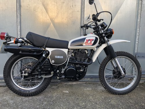 1978 YAMAHA XT 500 TRAIL TRIAL RARE ENDURO CONCOURSE! £9995 PX For Sale (picture 2 of 6)