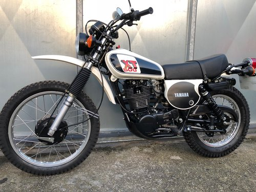 1978 YAMAHA XT 500 TRAIL TRIAL RARE ENDURO CONCOURSE! £9995 PX For Sale (picture 3 of 6)