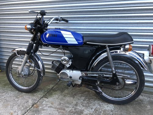 1980 YAMAHA FS1E FIZZY SIMPLY LOVELY 50CC MOPED £2495 ONO For Sale (picture 3 of 4)