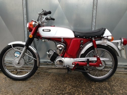 YAMAHA 1970 G7 G6 80cc USA FIZZY TRAIL TRIAL ONLY 825 MILES  For Sale (picture 3 of 5)