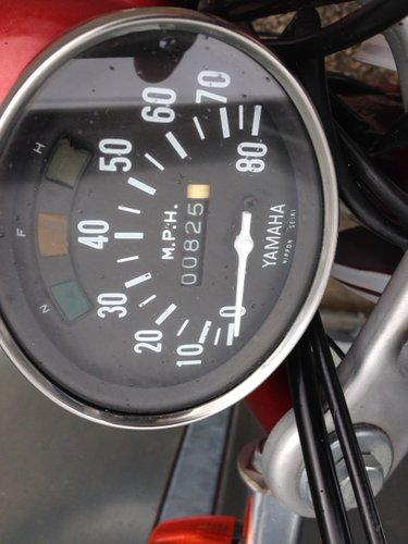 YAMAHA 1970 G7 G6 80cc USA FIZZY TRAIL TRIAL ONLY 825 MILES  For Sale (picture 4 of 5)