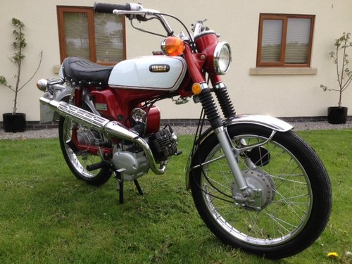 YAMAHA 1970 G7 G6 80cc USA FIZZY TRAIL TRIAL ONLY 825 MILES  For Sale (picture 5 of 5)