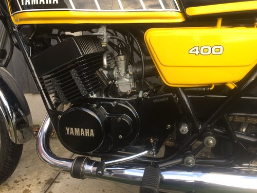 1983 Yamaha RD400 F SOLD (picture 6 of 6)