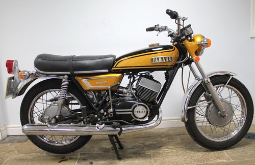 1972 Yamaha YDS7 Original UK example  Excellent Condition  SOLD (picture 1 of 6)