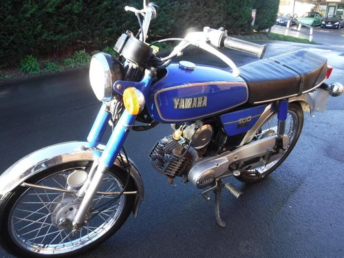 **MARCH AUCTION** 1982 Yamaha YB100 SOLD by Auction (picture 1 of 1)