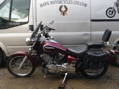 FANTASTIC 2002 YAMAHA XVS250 DRAGSTAR, 22775 MILES SOLD (picture 2 of 6)