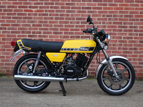 1977 Yamaha RD400 For Sale (picture 1 of 6)