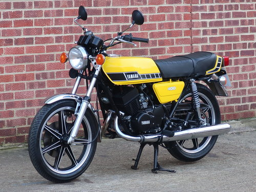 1977 Yamaha RD400 For Sale (picture 6 of 6)