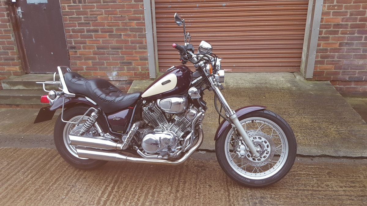 1995 Yamaha XV750 Virago - 14,234 miles SOLD (picture 1 of 6)
