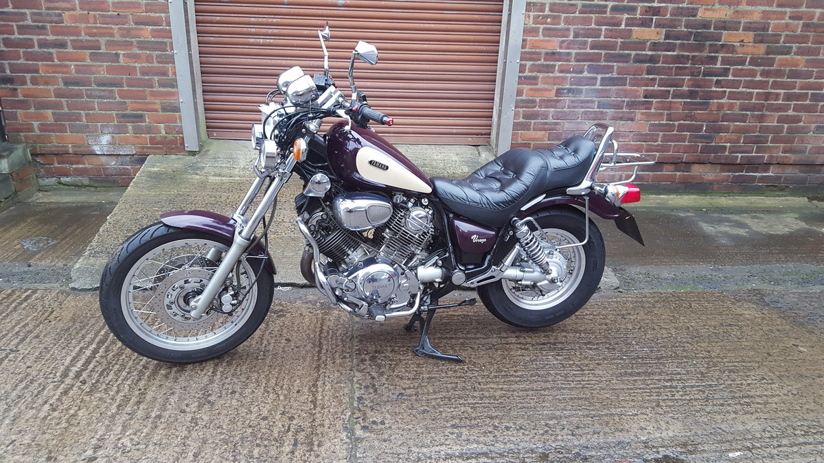 1995 Yamaha XV750 Virago - 14,234 miles SOLD (picture 2 of 6)