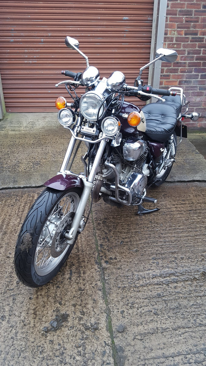 1995 Yamaha XV750 Virago - 14,234 miles SOLD (picture 4 of 6)
