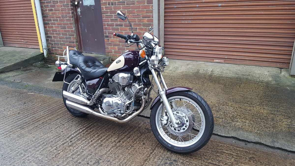 1995 Yamaha XV750 Virago - 14,234 miles SOLD (picture 5 of 6)