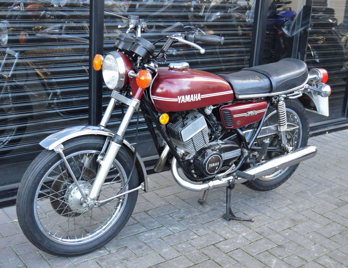 1974 YAMAHA RD350 * MATCHING NUMBERS * UK DELIVERY For Sale (picture 4 of 6)