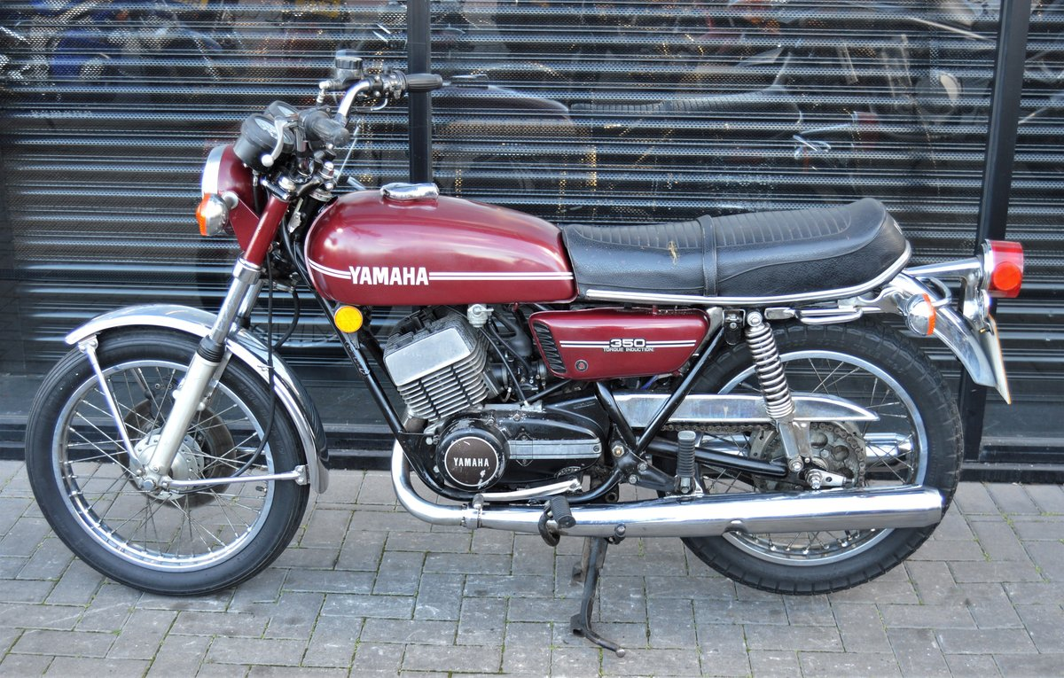 1974 YAMAHA RD350 * MATCHING NUMBERS * UK DELIVERY For Sale (picture 5 of 6)