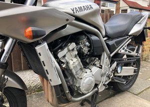 2002 Yamaha FZS 1000 SOLD by Auction