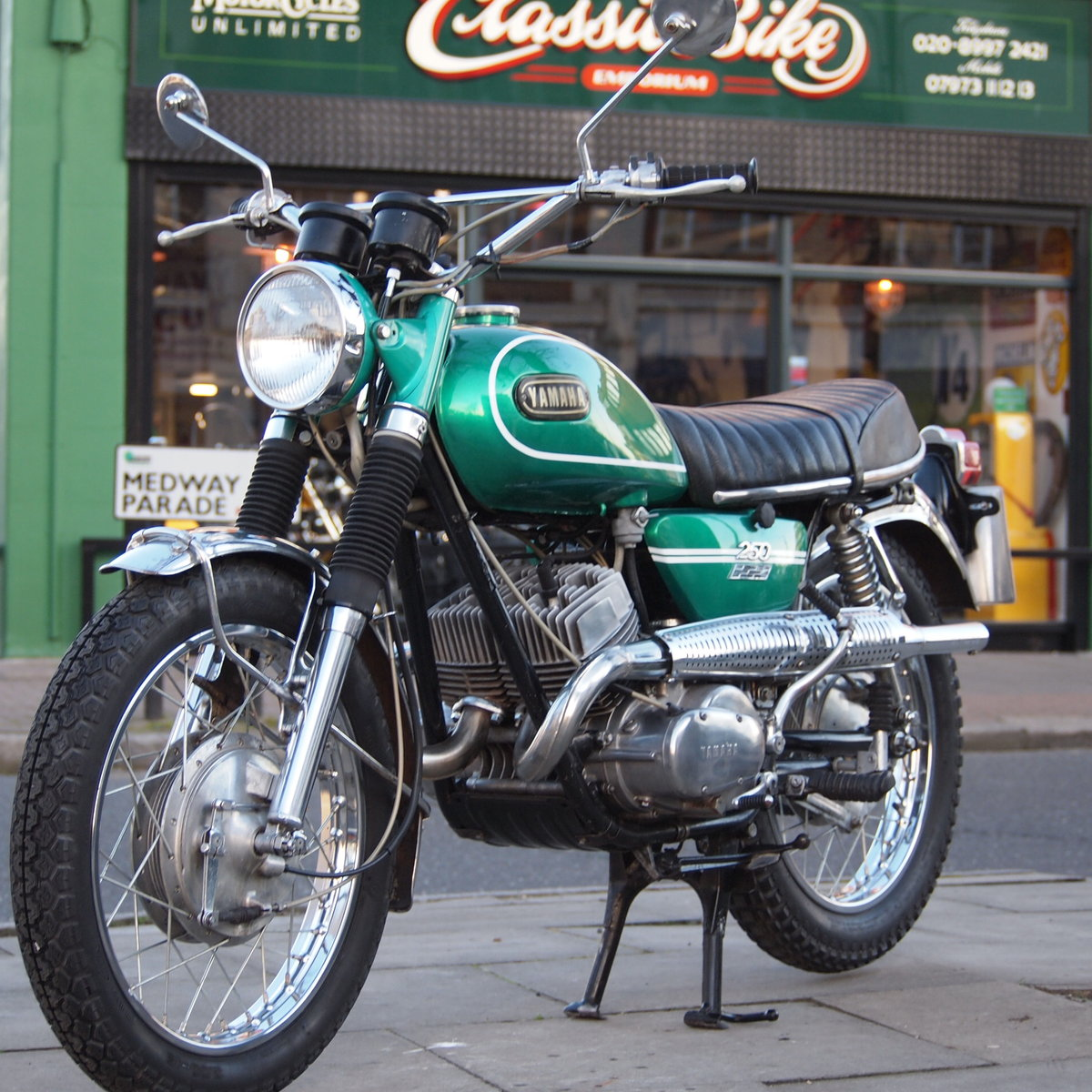 1969 DS6C 249cc Street Scrambler. RESERVED FOR GEORGE. SOLD (picture 1 of 6)