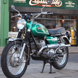 1969 DS6C 249cc Street Scrambler. RESERVED FOR GEORGE. SOLD