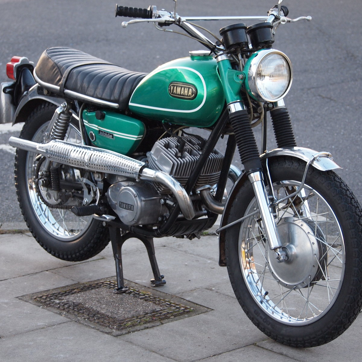 1969 DS6C 249cc Street Scrambler. RESERVED FOR GEORGE. SOLD (picture 2 of 6)
