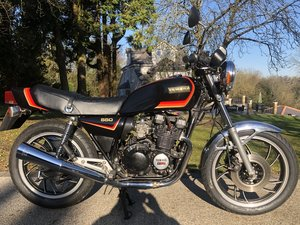 1981 XJ550 Uk bike Low miles  SOLD