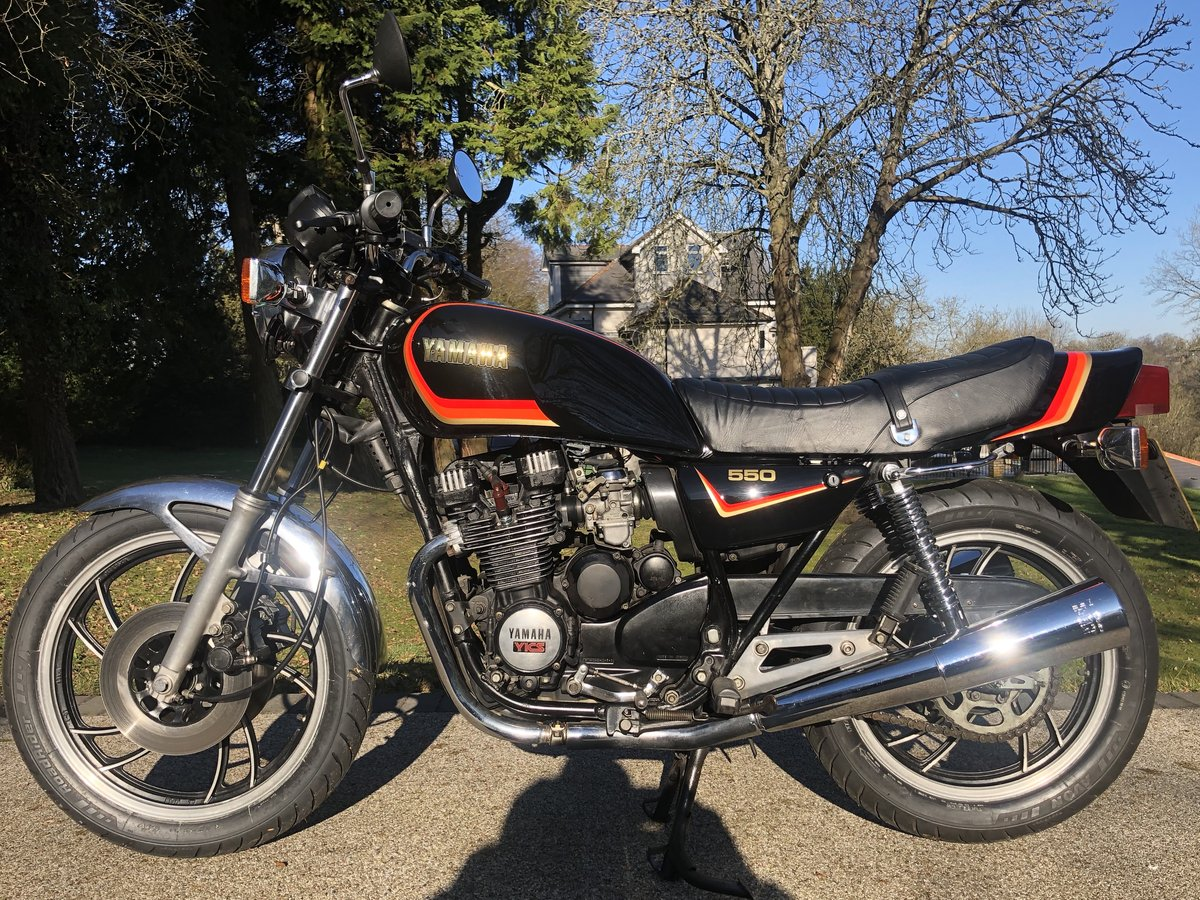 1981 XJ550 Uk bike Low miles  SOLD (picture 2 of 6)