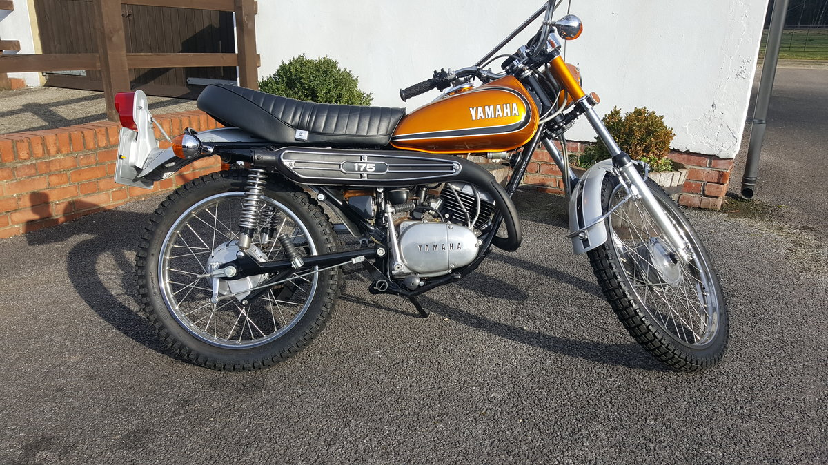 1974 Yamaha DT175 Torque Induction C1 For Sale (picture 1 of 5)