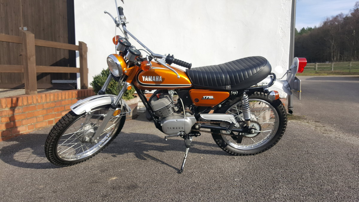 1974 Yamaha DT175 Torque Induction C1 For Sale (picture 2 of 5)