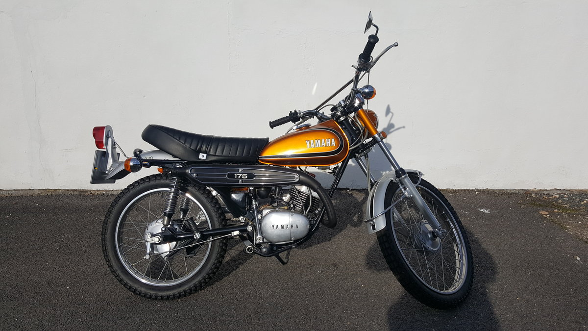 1974 Yamaha DT175 Torque Induction C1 For Sale (picture 3 of 5)