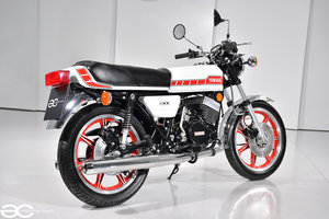 1978 Beautiful Yamaha RD 400D - Restored & in White/Red SOLD