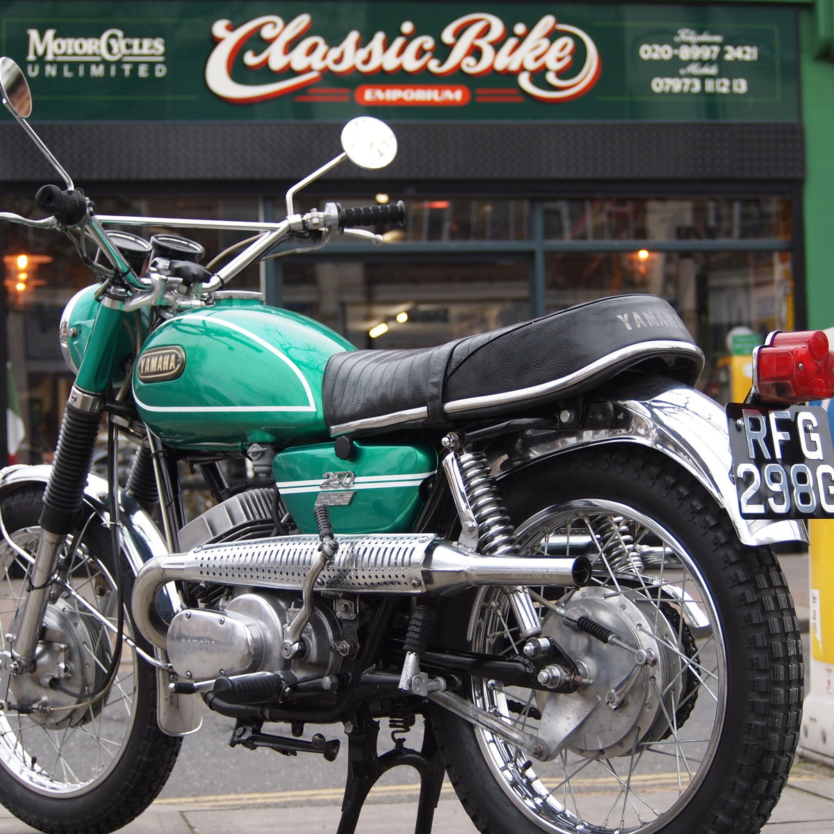 1969 DS6C 249cc Street Scrambler. RESERVED FOR GEORGE. SOLD (picture 6 of 6)
