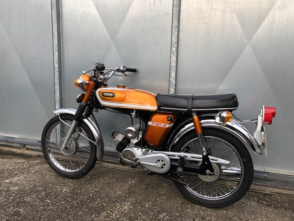 1976 YAMAHA FS1E FIZZY SIMPLY LOVELY 50CC MOPED £5495 ONO PX For Sale (picture 3 of 5)