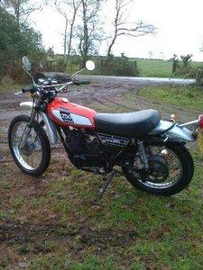 1974 Yamaha DT250b twin shock