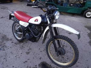 **MARCH AUCTION**1981 Yamaha XT SOLD by Auction