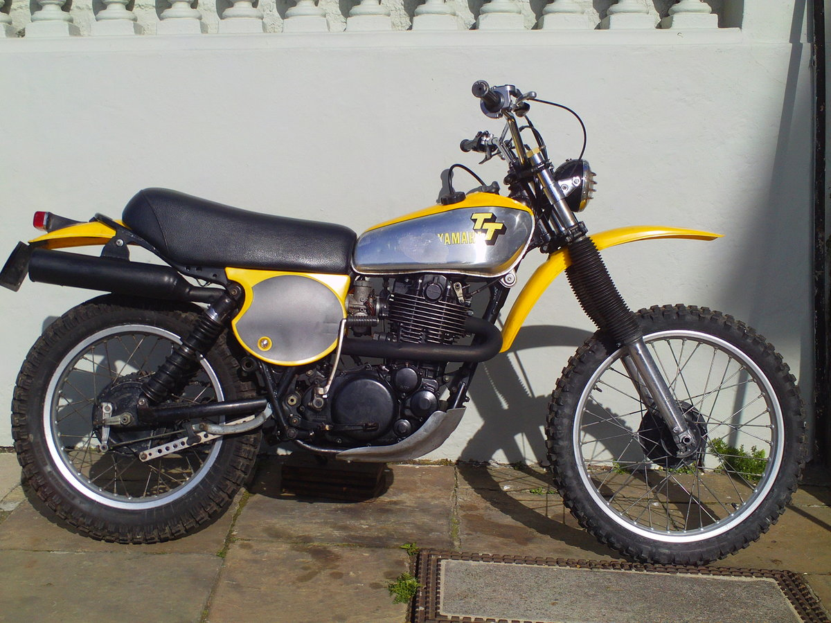 1977 YAMAHA XT500 TT SOLD (picture 1 of 6)