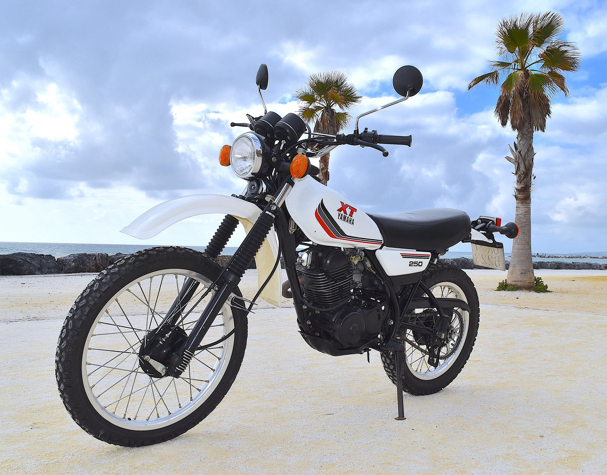 1988 Incredible Original & Unrestored Yamaha XT-250 For Sale (picture 1 of 6)