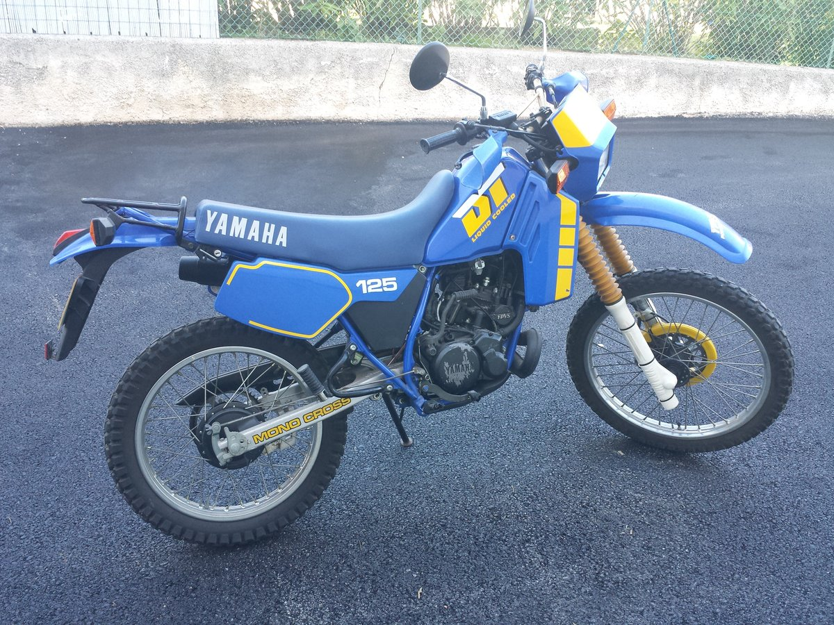 1987 Yamaha DT 125 LC only 4100 miles like new !!!! For Sale (picture 1 of 3)