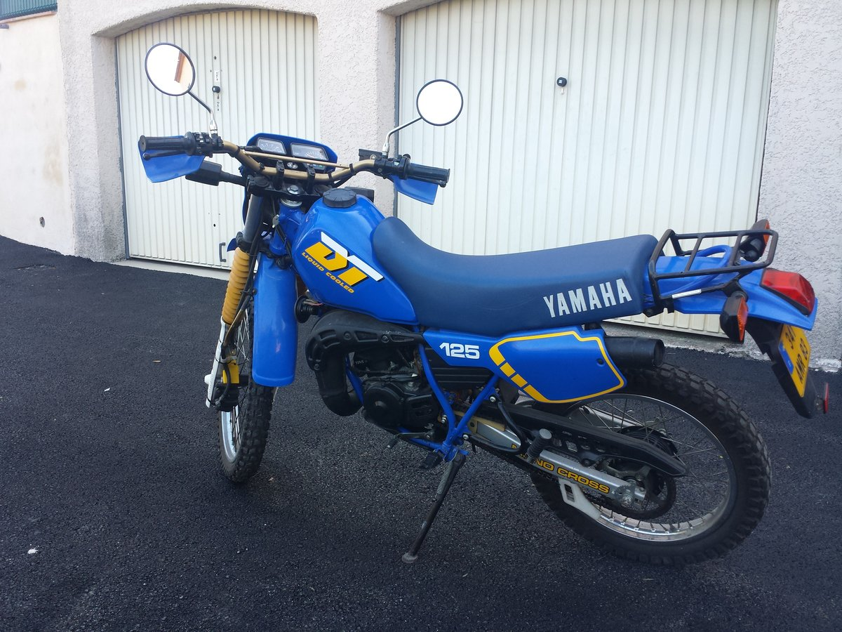 1987 Yamaha DT 125 LC only 4100 miles like new !!!! For Sale (picture 2 of 3)