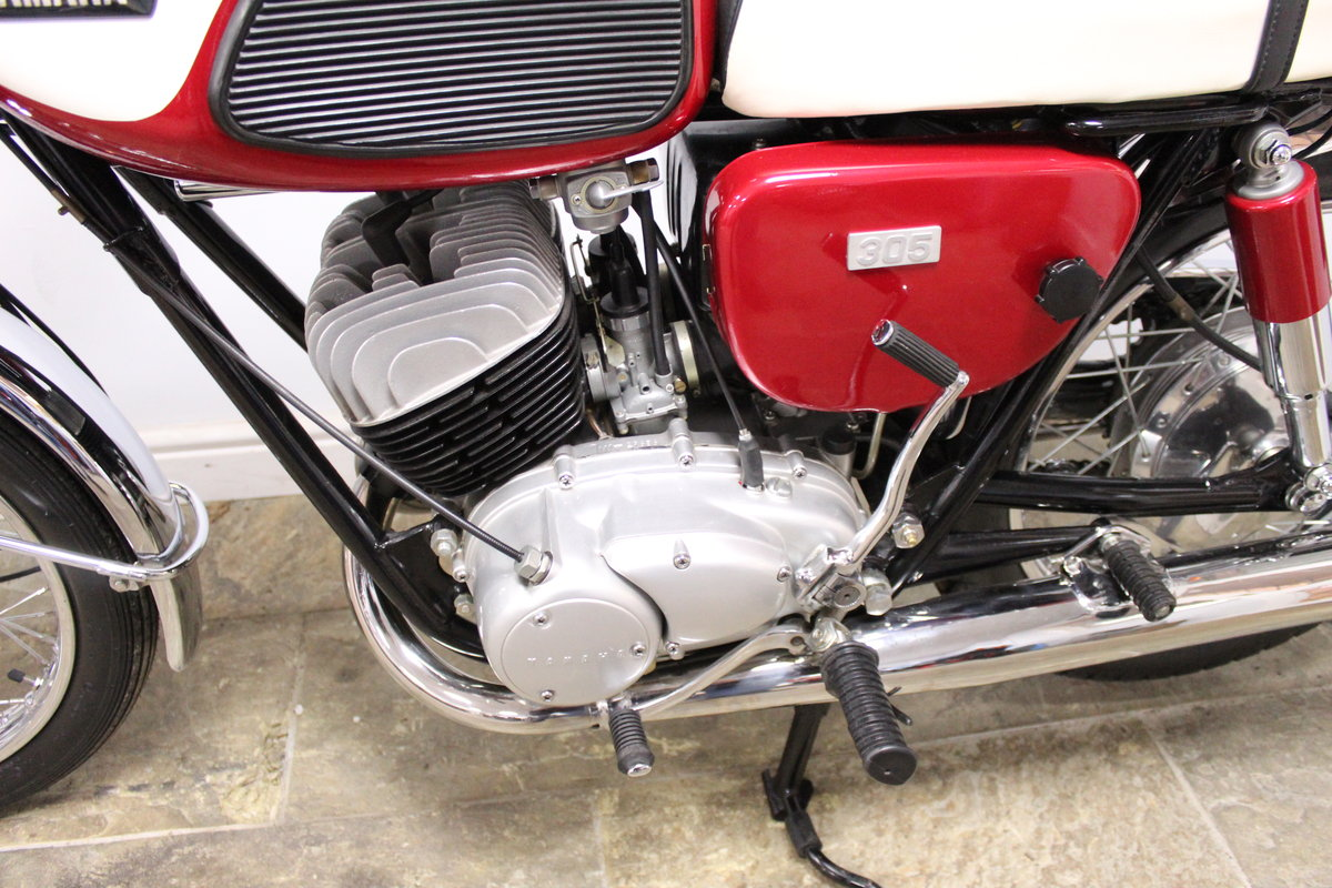1968 Yamaha YM1 305 cc Twin Two Stroke OUTSTANDING SOLD (picture 6 of 6)